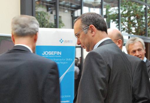 JOSEFIN at the Day of the European Regional Development Fund, Berlin 2009