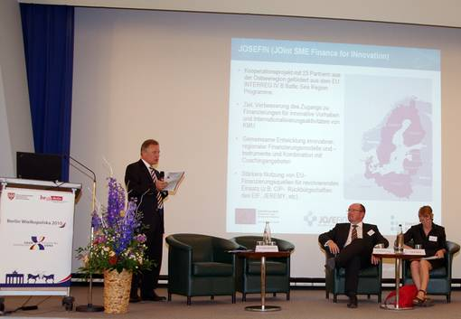 JOSEFIN at the Economic Forum Berlin-Wielkopolska 2010